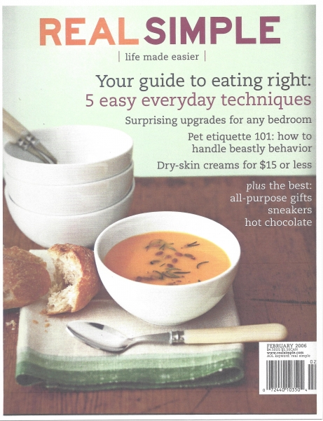 RealSimple 02-2006 Cover